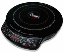 Precision NuWave INDUCTION COOKWARE   DVD   Recipes  30101 Black 1300W