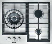 Miele KM 2312 G Gas Hob 60cm Stainless Steel