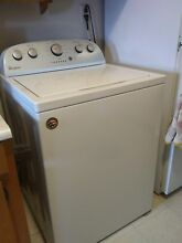 Whirlpool WTW5000DW 27  White Top Load Washer NOB  20033 T2 with Receipt