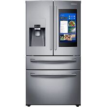 Samsung Stainless Steel 4 Door French Refrigerator Family Hub 3 0 RF28NHEDBSR