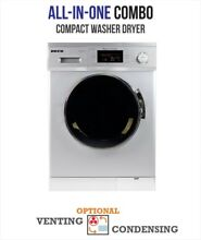 Deco All in one 1200 RPM Compact Combo Washer Dryer with Optional and Sensor in