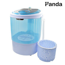 Refurbished Panda Portable Countertop Washer with Spin Basket 5 5lbs XPB27B