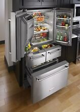 KitchenAid   5 Door French Door Refrigerator   SEE DESCRIPTION