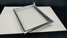 GE General Electric Refrigerator Deli Pan Glass Shelf From Model   TBH21JPE
