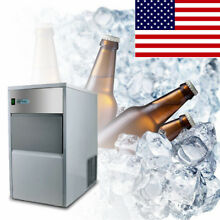 55 lb 25kg Automatic Commercial Ice Maker Restaurant Ice Cube Machine Store Use