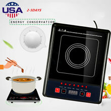 2000W Digital Induction Cooker Electric Cooktop Burner Home Countertop 2018 UPS