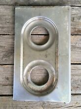 OEM Vintage O Keefe   Merritt Oven Stove Parts Top Right Burner Cover Chrome