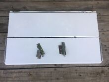 OEM Vintage O Keefe   Merritt Oven Stove Parts Top Folding Lid Cover Hinges