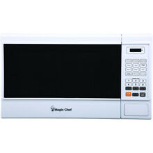 Magic Chef MCM1310W 1 3 Cu  Ft  1000W Countertop Microwave Oven in White