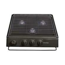 Suburban 3100A Slide In Cooktops Conventional Burner Black SCN3BE Piezo Ignition