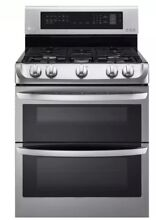 LG LDG4313ST 30  Gas Range Double Oven with Convection Stainless Steel