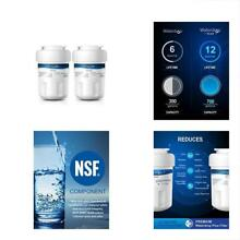 Plus MWF Double Refrigerator Water Filter Replacement For GE MWF  MWFP  MWFA   2