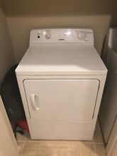Hotpoint Top Load Washer   Front Load Dryer  Used for only 6 months  Excellent