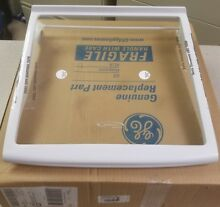 New GE Refrigerator Spillproof Slideout Glass Shelf Assembly WR32X10381