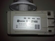 Timer from a Mayatg Neptune washer