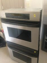 Kenmore elite stainless steel double oven