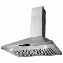 30  Stainless Steel Wall Mount Range Hood   Y RH0355