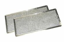 Grease Filter for GE Microwave Range Hood WB06X10596  2 Filters