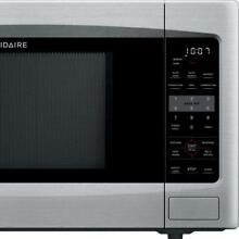1 2 cu  ft  Countertop Microwave with Convection in Stainless Steel