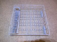 WHIRLPOOL LOWER DISHWASHER RACK with silverware basket   Part  8561705