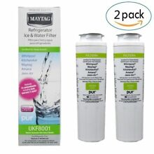 2 pk replacement for UKF8001  EDR4RXD1 Maytag Water Filter