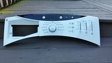 GE Washer Upper Control Control Panel WBVH6240HWW  WH12X10355  WH12X10303  White