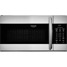 Frigidaire Gallery Stainless Steel 30  Over The Range Convection Microwave Oven