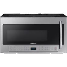 Samsung Stainless Steel 30  Over The Range Sensor Microwave ME21K6000AS