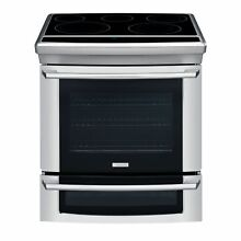 Electrolux EI30ES55JS 30  Slide In Electric Range w  IQ Touch Controls   Stainl