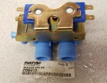 New OEM Whirlpool Maytag Washer Dryer Stack Unit Water Valve WP206413 206413