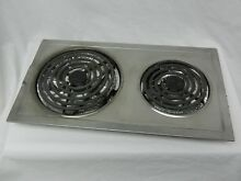 JENN AIR A100 STAINLESS STEEL CARTRIDGE COOKTOP OR RANGE 2 COIL ELEMENT