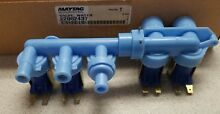 New OEM Maytag Whirlpool Washer   Dryer Water Inlet Valve WP22002437 22002437