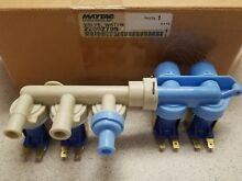 New OEM Maytag Whirlpool Washer Water Inlet Valve Washing Machine 22002795