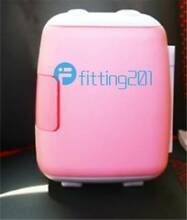 4L New vehicle mounted Dorm Room Mini Refrigerator pink Office Kitchen Fridge
