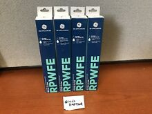 GE RPWFE Refrigerator Water Filters 4 pack