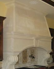 Massive Kitchen Hood Surround Arch  Custom Size and design  Stone Range Hood