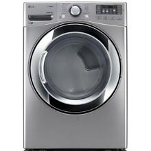 LG DLEX3370V D7 4 cu  ft  Electric Dryer with Steam in Graphite Steel