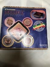 NEW TOASTMASTER GRILLERIE Indoor Electric Grill  Vintage Infomercial Made IN USA