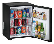 H fele Mini bar Refrigerator Black Drinks Fridge Hotel 1014 4oz a   Silent
