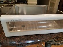 Ge profile refrigerator side by side clear snack pan WR32X1460