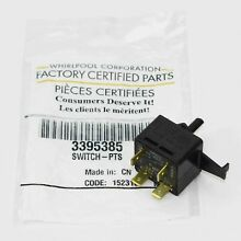 3395385 Genuine OEM Clothes Dryer Push to Start Switch
