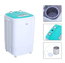 Portable Electric Mini Washing Machine Laundry Spin Washer Dryer Dorm Motor Home