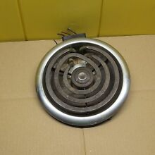 Vintage Stove Chromalox 8  Burner Element 1950s Tappan Montgomery Ward