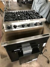 Viking cooktop professional series 6 burner   natural gas