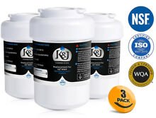NIB GE MWF Water Filter Compatible Replacements 3 Pack NSF 42 Certified
