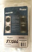 New Whirlpool W10869845 Laundry Stack Kit