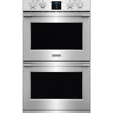 Frigidaire Stainless Steel Pro 30  Double Wall Oven Convection FPET3077RF