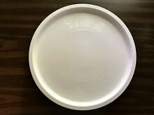 15  inch Microwave Convection Oven Glass White Milk Ceramic Turntable Plate Tray