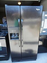 BLACK NEW WHIRLPOOL ENERGY STAR 21 7 REFRIGERATOR ICE MAKER  1500  AT H D