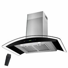 30 Stainless Steel Wall Mount Range Hood with Gas Sensor Remote Control Y RH0290